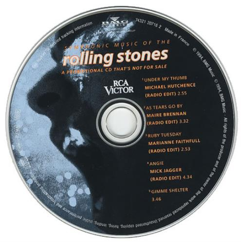 Rolling Stones Symphonic Music Of The Rolling Stones French