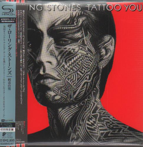 Rolling Stones Tattoo You SHM CD Japanese ROLHMTA468192