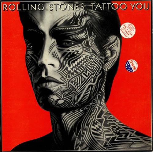Rolling Stones Tattoo You Malaysia Vinyl Lp Album Lp