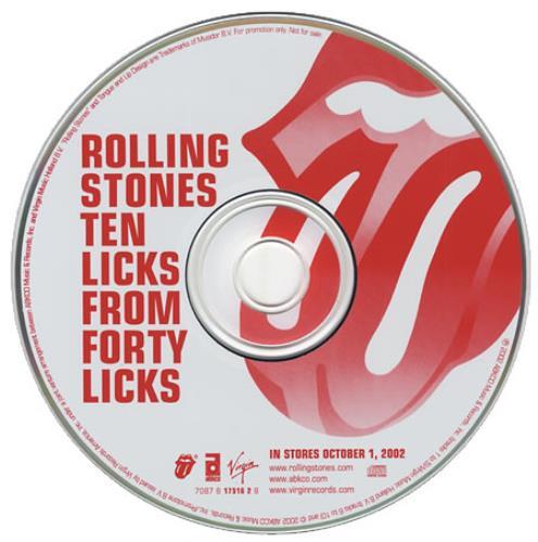 Rolling Stones Ten Lic...