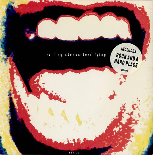 "Rolling Stones Terrifying 7"" vinyl single (7 inch record) UK ROL07TE33899"