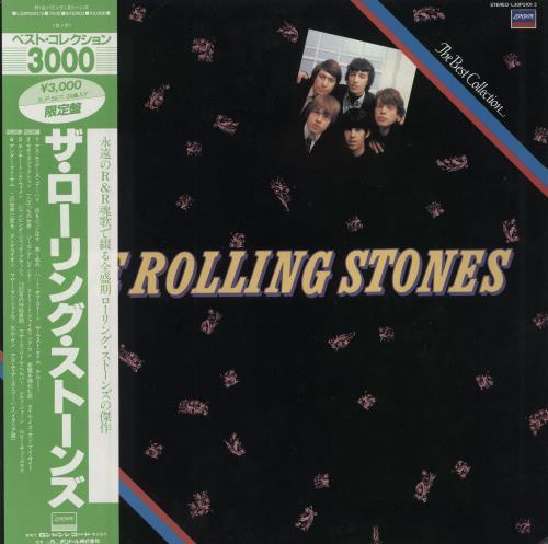 Rolling Stones The Best Collection + Obi 2-LP vinyl record set (Double Album) Japanese ROL2LTH162645