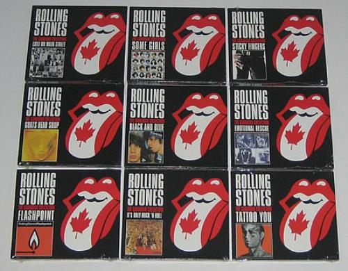 Rolling Stones The Canadian Collection Canadian Cd Album