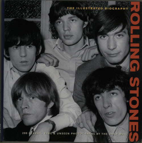 Rolling Stones The Illustrated Biography book UK ROLBKTH605567