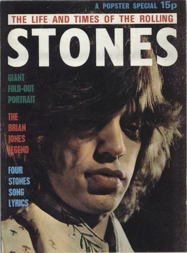 Rolling Stones The Life And Times Of… UK magazine