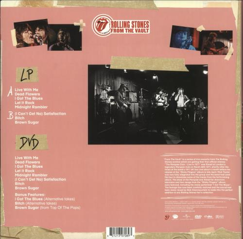 Rolling Stones The Marquee Club: Live In 1971 vinyl LP album (LP record) US ROLLPTH727441