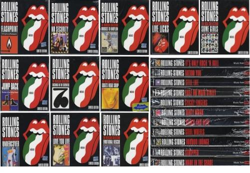Rolling Stones The Mexican Collection 22 Cds Mexican Cd