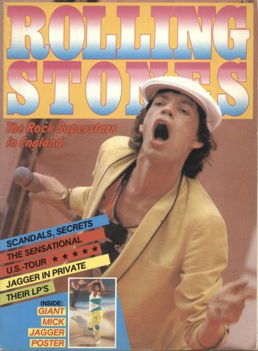 Rolling Stones The Rock Superstars In England magazine UK ROLMATH325920