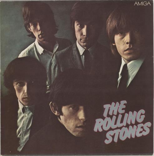 Rolling Stones The Rolling Stones - 1st vinyl LP album (LP record) German ROLLPTH710334