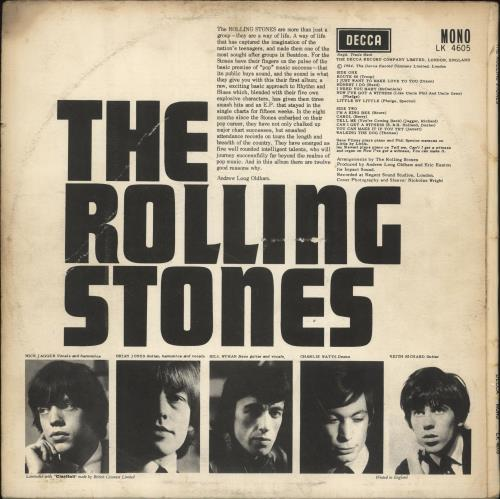 Rolling Stones The Rolling Stones - 2nd [A] - VG vinyl LP album (LP record) UK ROLLPTH734123