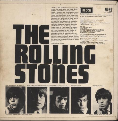 Rolling Stones The Rolling Stones - 2nd [B] - VG vinyl LP album (LP record) UK ROLLPTH643476