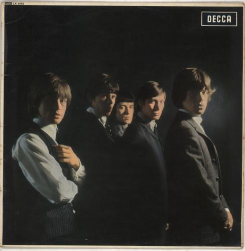 Rolling Stones The Rolling Stones - 4th - VG vinyl LP album (LP record) UK ROLLPTH707094