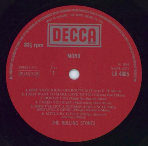 Rolling Stones The Rolling Stones - 6th UK vinyl LP album