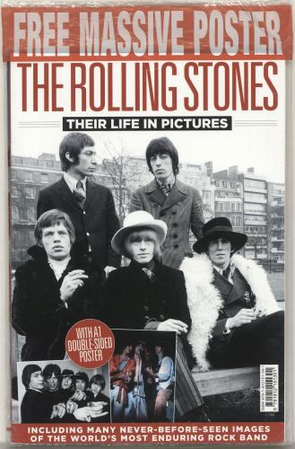 Rolling Stones The Rolling Stones - Their Life In Pictures magazine UK ROLMATH703692