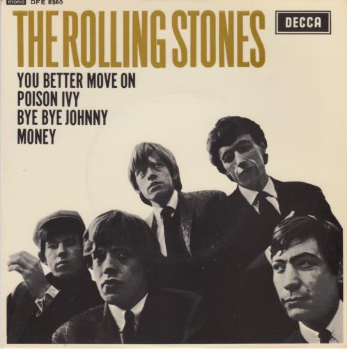 """Rolling Stones The Rolling Stones EP - 1st - EX 7"""" vinyl single (7 inch record) UK ROL07TH555676"""