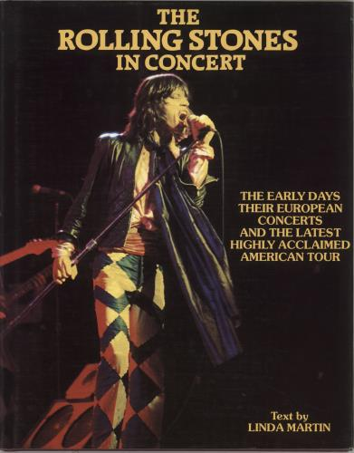 Rolling Stones The Rolling Stones In Concert book UK ROLBKTH132557