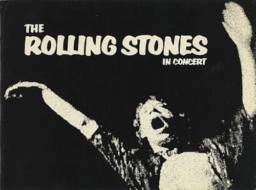 Rolling Stones The Rolling Stones In Concert tour programme US ROLTRTH371910
