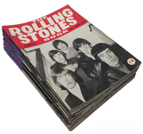 Rolling Stones The Rolling Stones Monthly Book - Complete Set fanzine UK ROLFATH528515