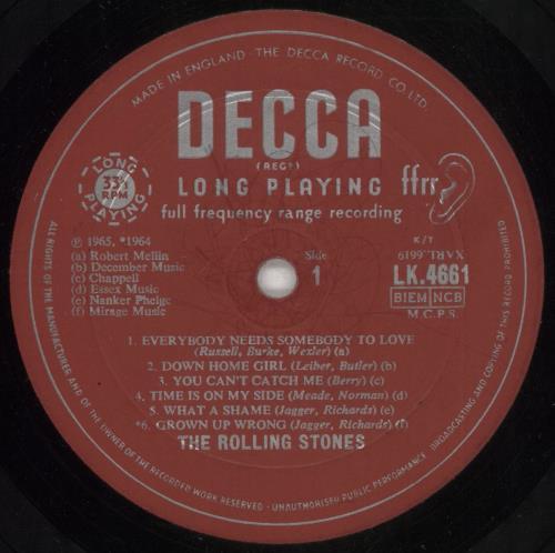 Rolling Stones The Rolling Stones No. 2 - 2nd - VG - Non Flipback vinyl LP album (LP record) UK ROLLPTH738295