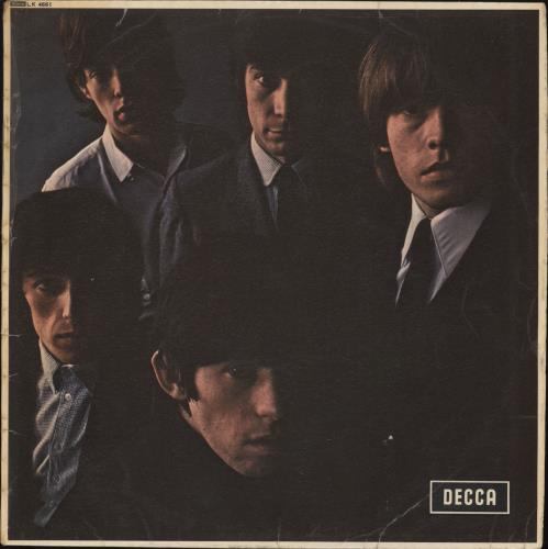 Rolling Stones The Rolling Stones No. 2 - 5th - Ungrooved Label vinyl LP album (LP record) UK ROLLPTH708883