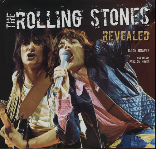Rolling Stones The Rolling Stones Revealed book UK ROLBKTH583992