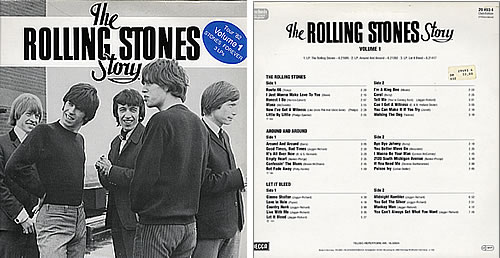 Rolling Stones The Rolling Stones Story Volumes 1 Amp 2