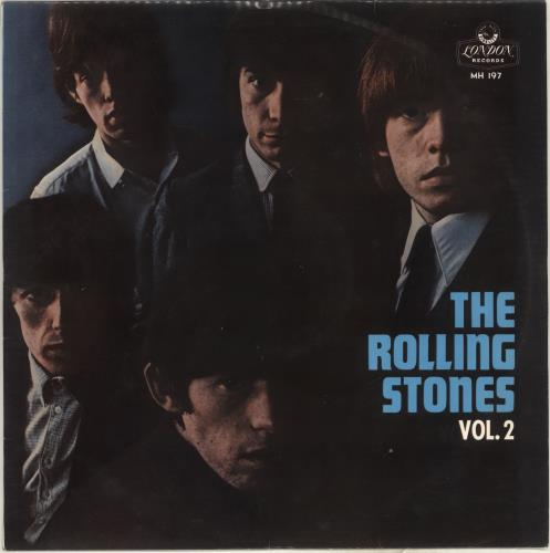 Rolling Stones The Rolling Stones Vol. 2 - 1st vinyl LP album (LP record) Japanese ROLLPTH396959