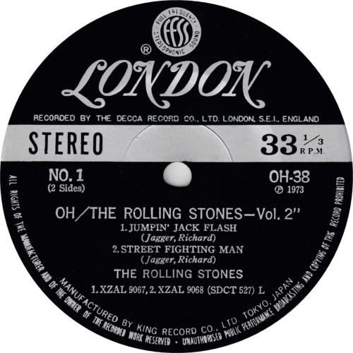 "Rolling Stones The Rolling Stones Vol.2 E.P. - Gatefold + Obi 7"" vinyl single (7 inch record) Japanese ROL07TH714621"