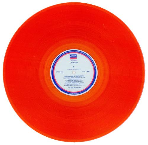 Rolling Stones The Rolling Stones Now Orange Vinyl