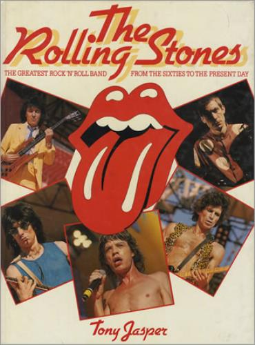 Rolling Stones The Rolling Stones book UK ROLBKTH128871