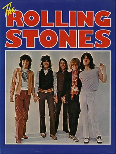 Rolling Stones The Rolling Stones book UK ROLBKTH349745