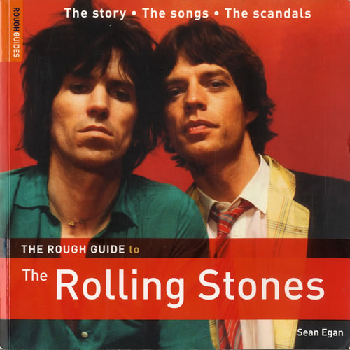 Rolling Stones The Rough Guide To The Rolling Stones book UK ROLBKTH551208