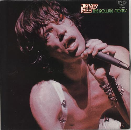 Rolling Stones The Very Best Of vinyl LP album (LP record) Japanese ROLLPTH723782