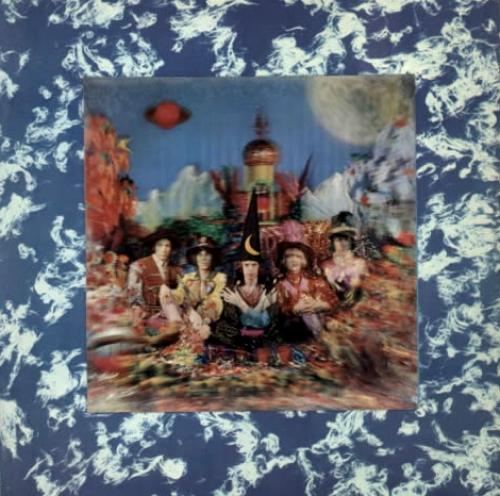 Rolling Stones Their Satanic Majesties Request - 1st (4th variant) - EX vinyl LP album (LP record) UK ROLLPTH640829