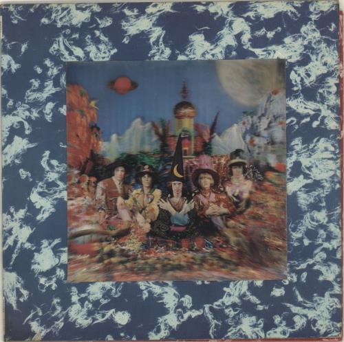 Rolling Stones Their Satanic Majesties Request - 1st (4th variant) - VG vinyl LP album (LP record) UK ROLLPTH703833