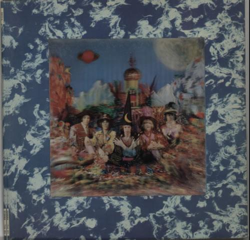 Rolling Stones Their Satanic Majesties Request - 1st (4th variant) vinyl LP album (LP record) UK ROLLPTH612399