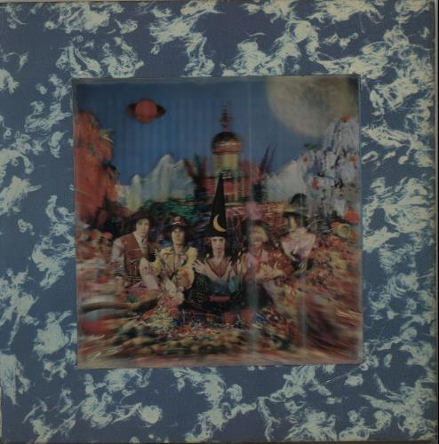 Rolling Stones Their Satanic Majesties Request - 1st - EX vinyl LP album (LP record) Japanese ROLLPTH651868