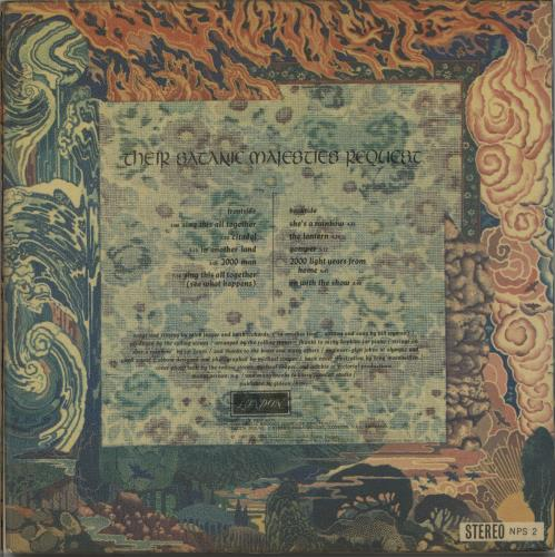 Rolling Stones Their Satanic Majesties Request - 1st vinyl LP album (LP record) Japanese ROLLPTH651868
