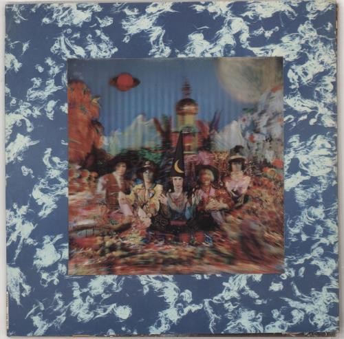 Rolling Stones Their Satanic Majesties Request - 2nd (4th Variant) vinyl LP album (LP record) UK ROLLPTH730584