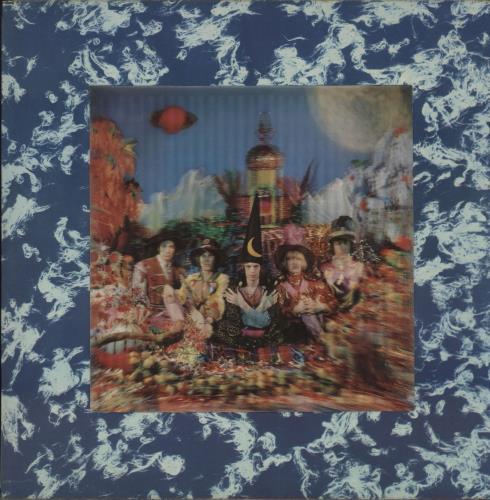 Rolling Stones Their Satanic Majesties Request - 2nd - EX vinyl LP album (LP record) UK ROLLPTH727475