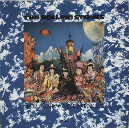 Rolling Stones Their Satanic Majesties Request - Decca Issue vinyl LP album (LP record) German ROLLPTH330714