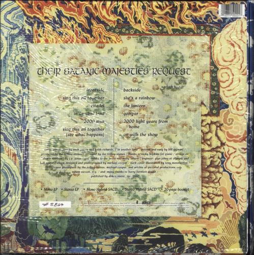 Rolling Stones Their Satanic Majesties Request - Deluxe Edition  + Slipmat Vinyl Box Set UK ROLVXTH744307
