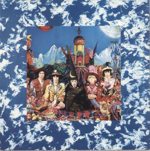 Rolling Stones Their Satanic Majesties Request vinyl LP album (LP record) US ROLLPTH747544