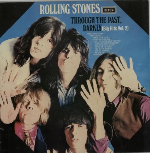 Rolling Stones Through The Past Darkly - 2nd - EX vinyl LP album (LP record) UK ROLLPTH622564
