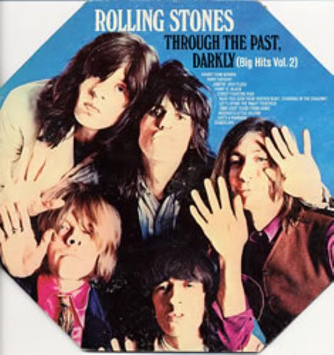 Rolling Stones Through The Past Darkly - Octagonal Sleeve vinyl LP album (LP record) Colombian ROLLPTH327319