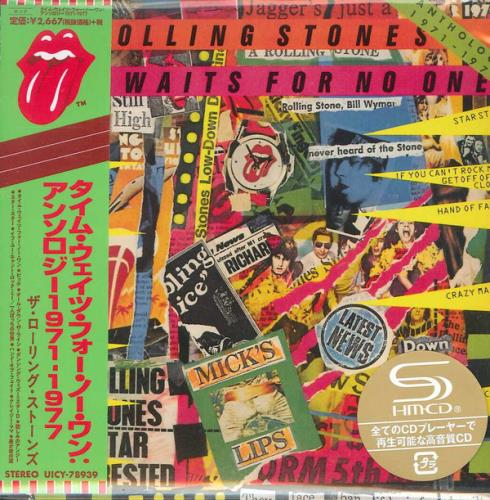 Rolling Stones Time Waits For No One (Anthology 1971-1977) SHM CD Japanese ROLHMTI757637