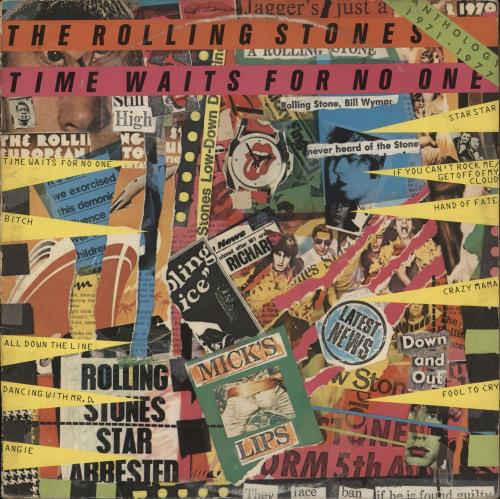 Rolling Stones Time Waits For No One - VG vinyl LP album (LP record) UK ROLLPTI742847