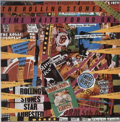 Rolling Stones Time Waits For No One vinyl LP album (LP record) Portugese ROLLPTI56554