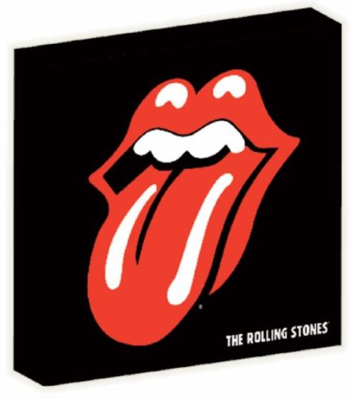 Rolling Stones Tongue Logo Canvas Print Memorabilia UK ROLMMTO354251