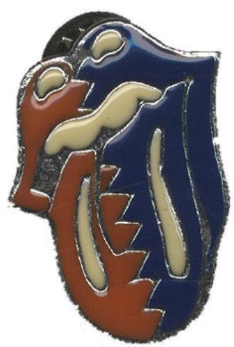 Rolling Stones Tongue Logo Uk Badge 432118 Badge